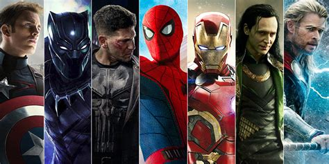 list of marvel actors list most popular marvel characters their powers