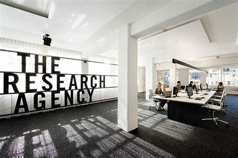 Research Interior Design simple and research agency office in new zealand