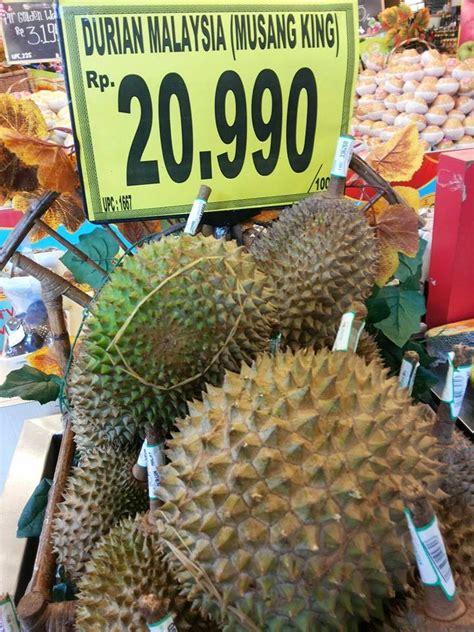 Durian 2 In 1 Selai N Dodol Asli waryo durian ciri ciri durian musangking yang asli