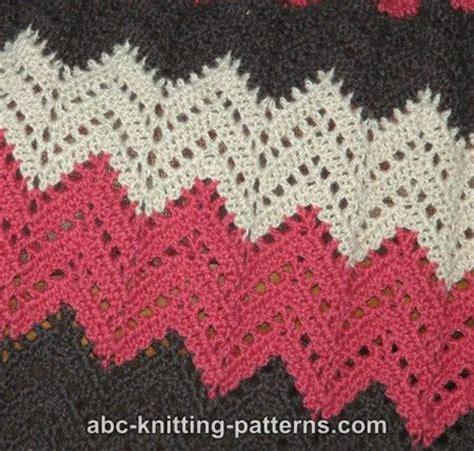pattern crochet ripple afghan abc knitting patterns lace ripple afghan