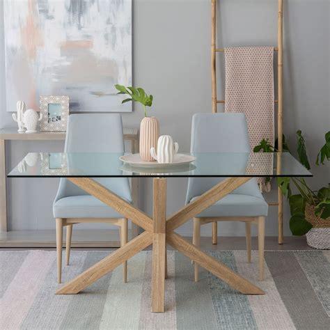 mesa comedor redonda cristal mesa mesas comedor cocina comedores kenay home