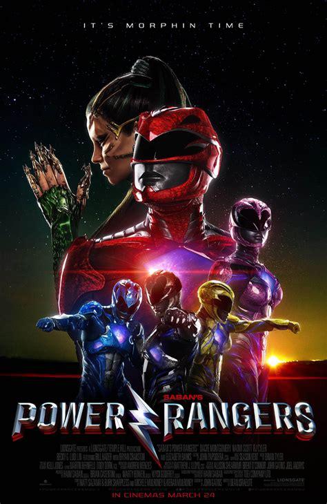 film pendek power ranger und weiter geht s neues power rangers poster kino