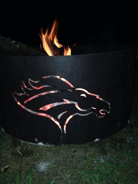 best fire pit ever denver broncos pinterest fire