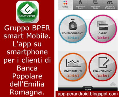www banco di sardegna it home banking app android bper smart mobile app home banking