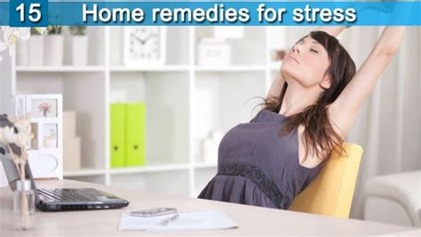 15 home remedies for stress and anxiety are revealed