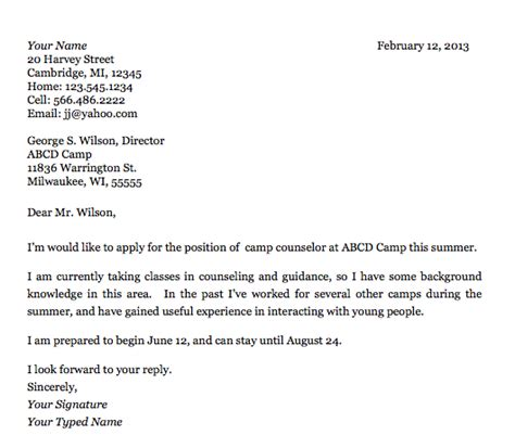 cover letter student exles email to submit resume and cover letter