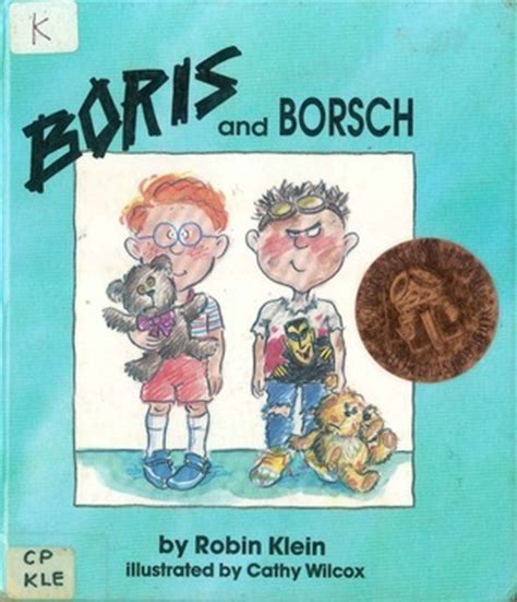 Book Review Up And By Klein by Boris And Borsch By Robin Klein Reviews Discussion