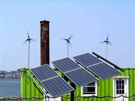 solar panels and wind turbines for homes wind turbines solar panels green great lakes echo page