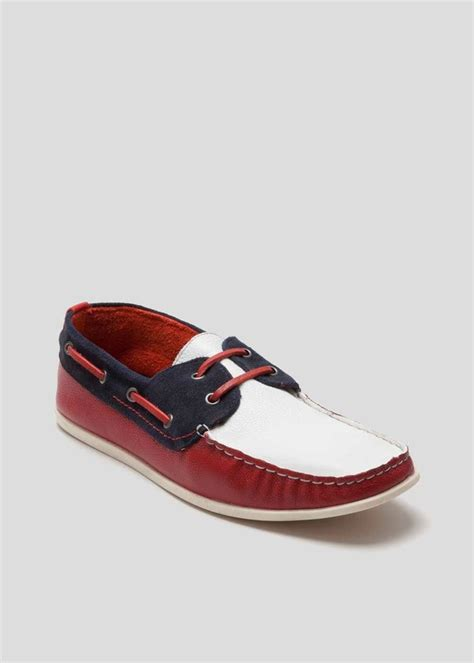 morley real leather boat shoes shopstyle co uk loafers
