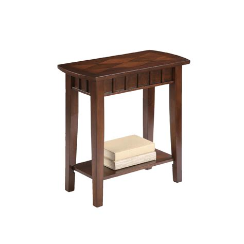 Espresso End Tables by Ore International 24 Quot Traditional Light Espresso Side End