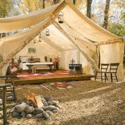 Wall Tent Platform Design decorating in glamping style daley decor with debbe daley