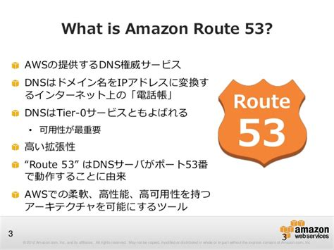 amazon route 53 awsマイスターシリーズ amazon route53