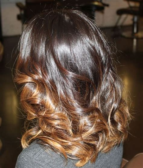 dark on bottom ombre hair color for brunettes inspiration for what my hair will look like on saturday