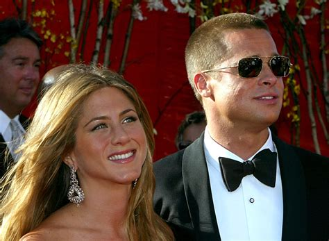 Brad To Jen Dump Your New by Aniston Upset With Brad Pitt And