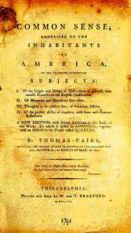 common sense by paine 1776 social studies and