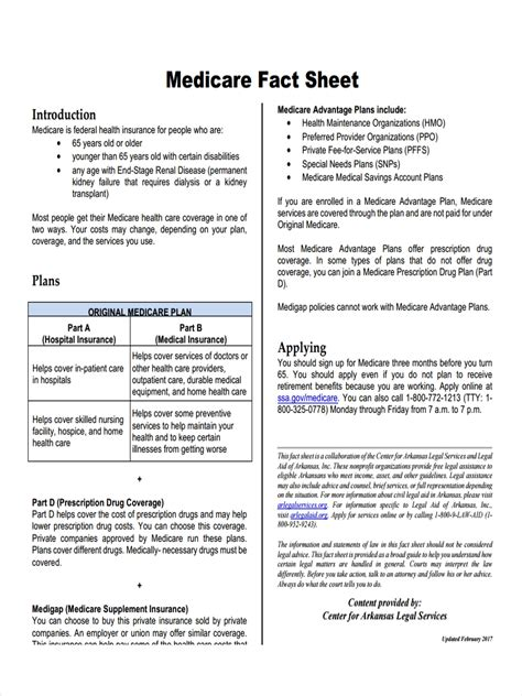 fact sheet examples samples  word pages