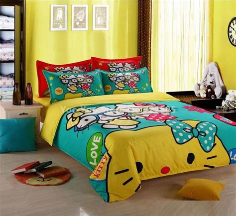 hello kitty bed sheets 224 best hello kitty bedding images on pinterest