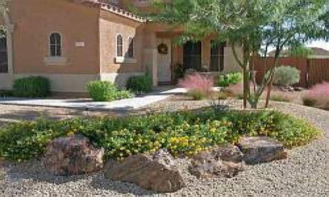 desert rock garden rock front yard desert landscaping