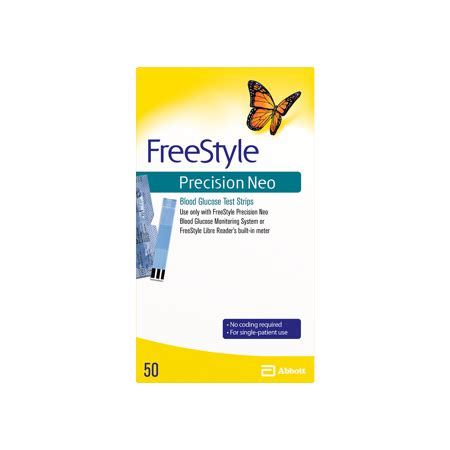 freestyle precision neo blood glucose test strips  ct