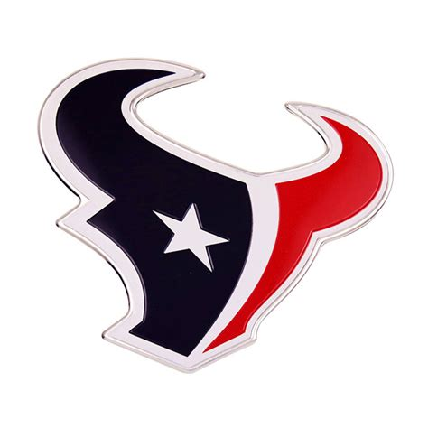 houston texans colors houston texans color emblem car or truck decal team promark