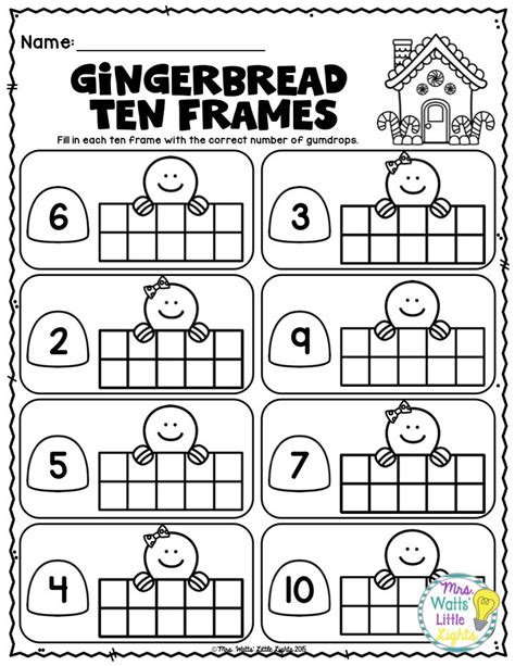 gingerbread math worksheets 17 best images about teaching january on animals activities and things to do inside