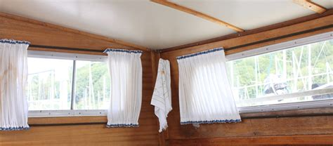 boat curtains and blinds small boat projects making life aboard easier from