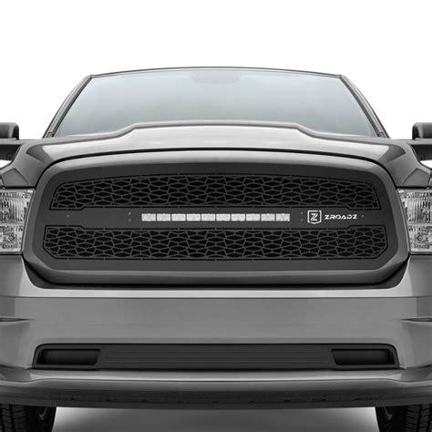 dodge ram grill with lights t rex 174 dodge ram 2017 zroadz series black cnc machined