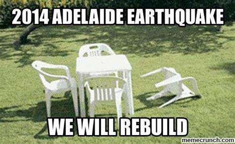 Earthquake Meme - 2014 adelaide earthquake