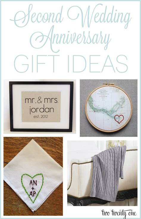 Wedding Anniversary Ideas by Second Anniversary Gift Ideas