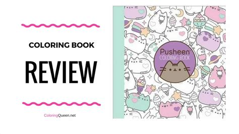 coloring book review genius pusheen coloring book review belton