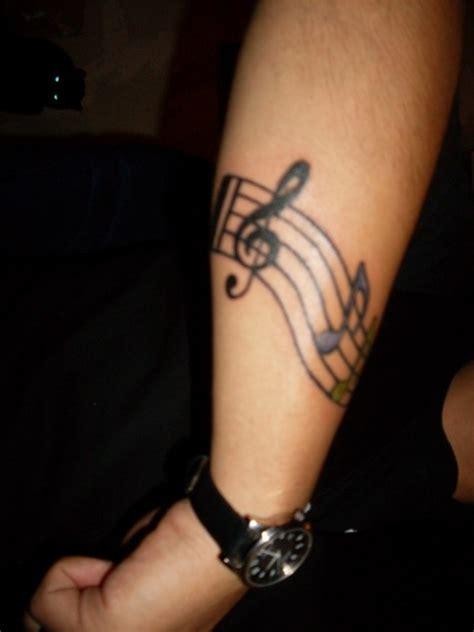 musical tattoos 52 tattoos on wrist