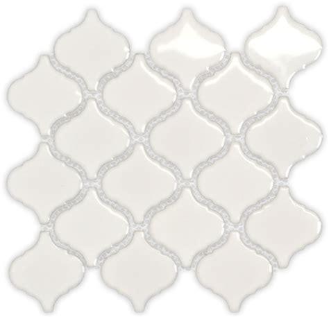 White And Blue Tiles In Bathroom Antique Design Lantern Ceramic Mesh Mounted Mosaic Tile