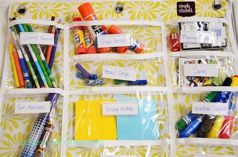 The Door School Supply Organizer by School Supplies Organization A Bowl Of Lemons