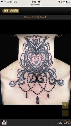 neck tattoo on ink master victorian frame google search tatt