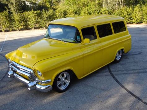 1957 Chevy Suburban By 1957 chevy suburban restomod pro touring rod power