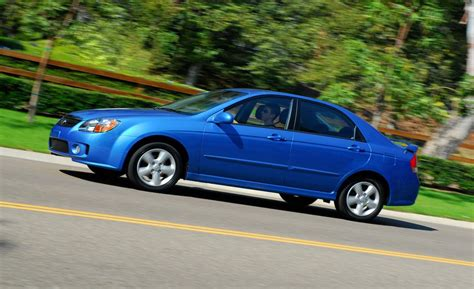 2008 Kia Spectra Review Car And Driver