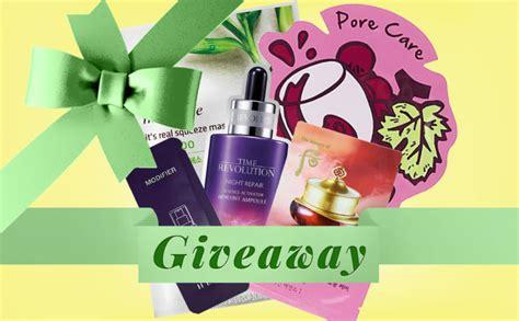 Korean Giveaway - giveaway win korean sheet masks skin care products k beauty blog