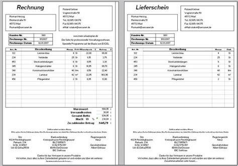 Muster Rechnung Und Lieferschein Shareware4u Kategorie B 252 Ro Buchhaltung Finanzen Filter Demo Seite 4