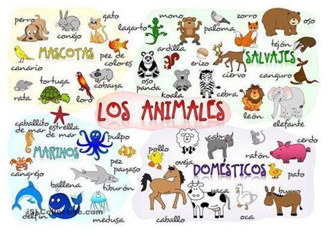 imagenes de animales con w practica el vocabulario los animales recursos de