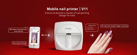 Digital Mobile Nail Printer V10 o2nails mobile nail printer digital nail printer nail