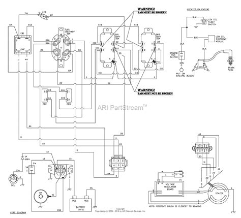 wiring diagrams for lawn mowers parts for lawn mowers