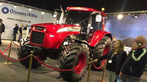 volvo bm  brand  tractor agromek herning  youtube