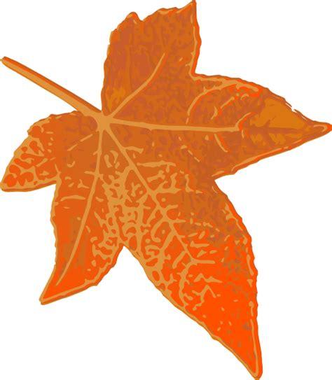 orange maple leaf clip art at clker com vector clip art online royalty free public domain