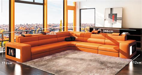 canape d angle orange deco in 3 canape d angle orange et noir design en