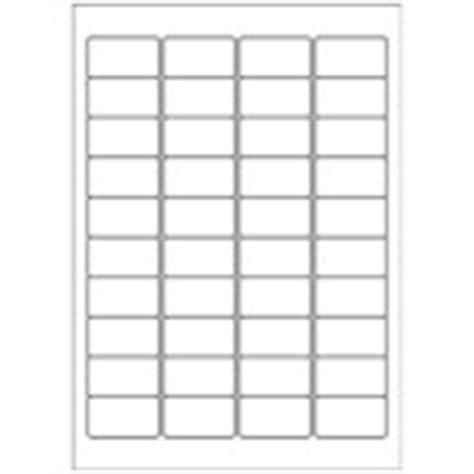Mini Labels 40 Per Page Avery Templates Mini Label Template