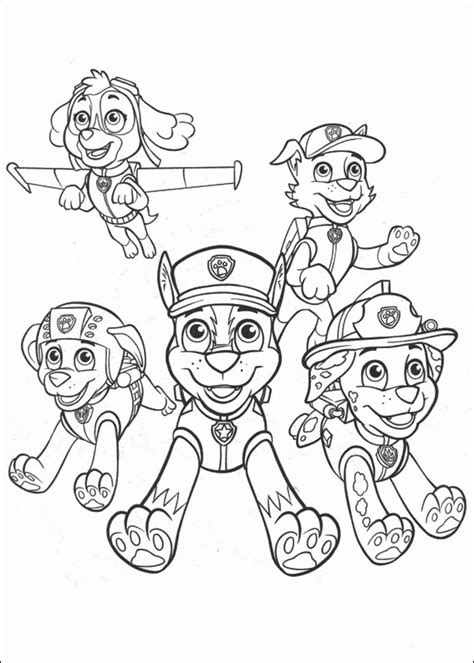 paw patrol coloring book paw patrol coloring pages color paw patrol