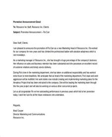 employee termination announcement template sle letter announcing employee resignation to clients