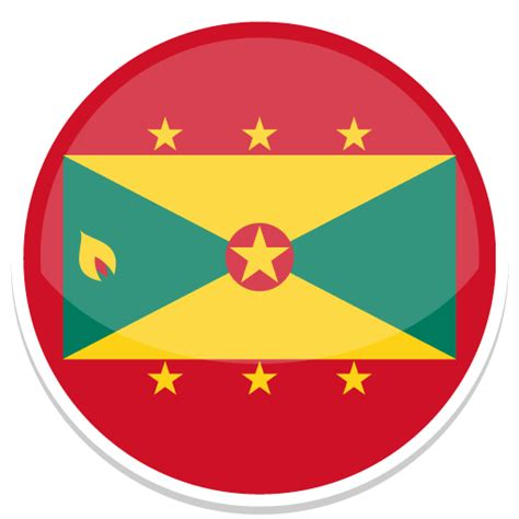 flags of the world round grenada icon round world flags iconset custom icon design