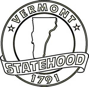 vermont coloring page supercoloring com