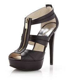 Sandal Heels Garsel E 404 edle sandalette aus leder mit ca 4 cm plateau einem